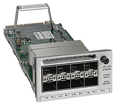 Network module missing after Cisco 3850 switch upgrade