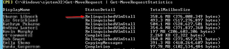 Mailbox Move Stall