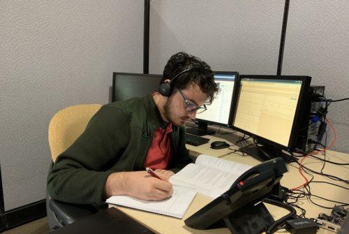 Aaron studies for certifications